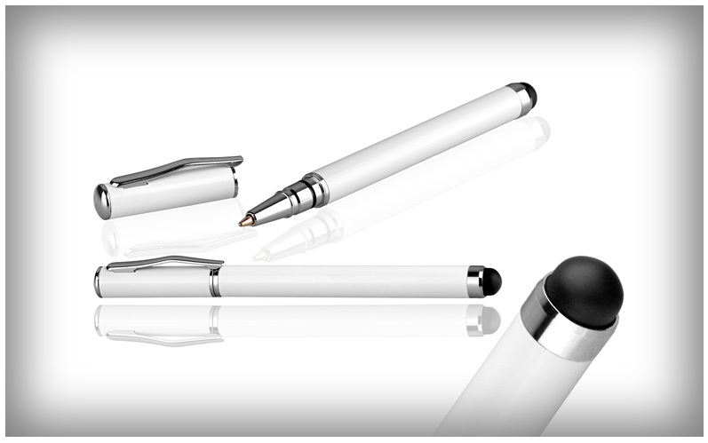 2in1 stift mit kuli f r hts desire c touch stylus pen. Black Bedroom Furniture Sets. Home Design Ideas