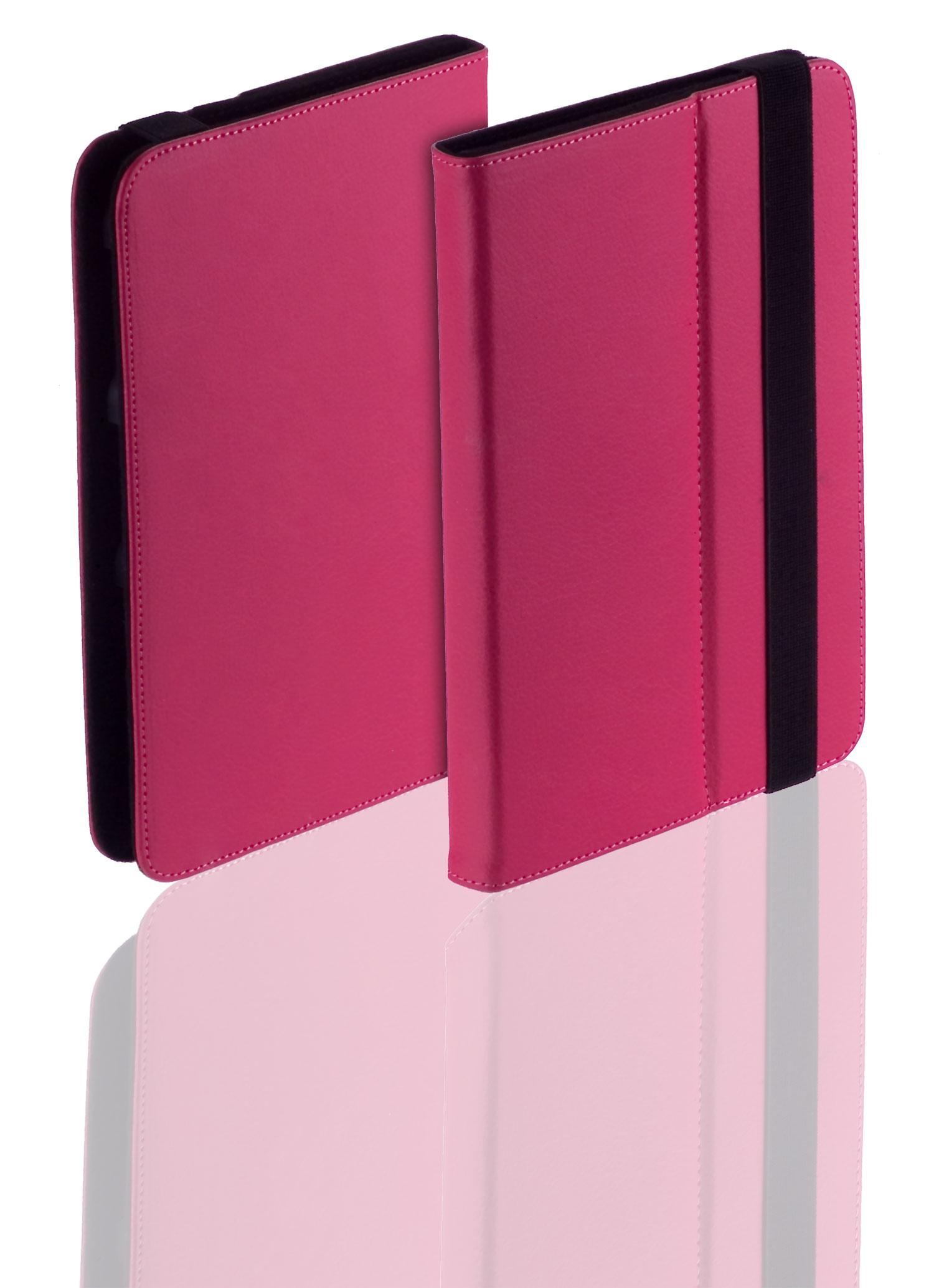 uni book style tablet tasche pink f r archos 101 oxygen. Black Bedroom Furniture Sets. Home Design Ideas