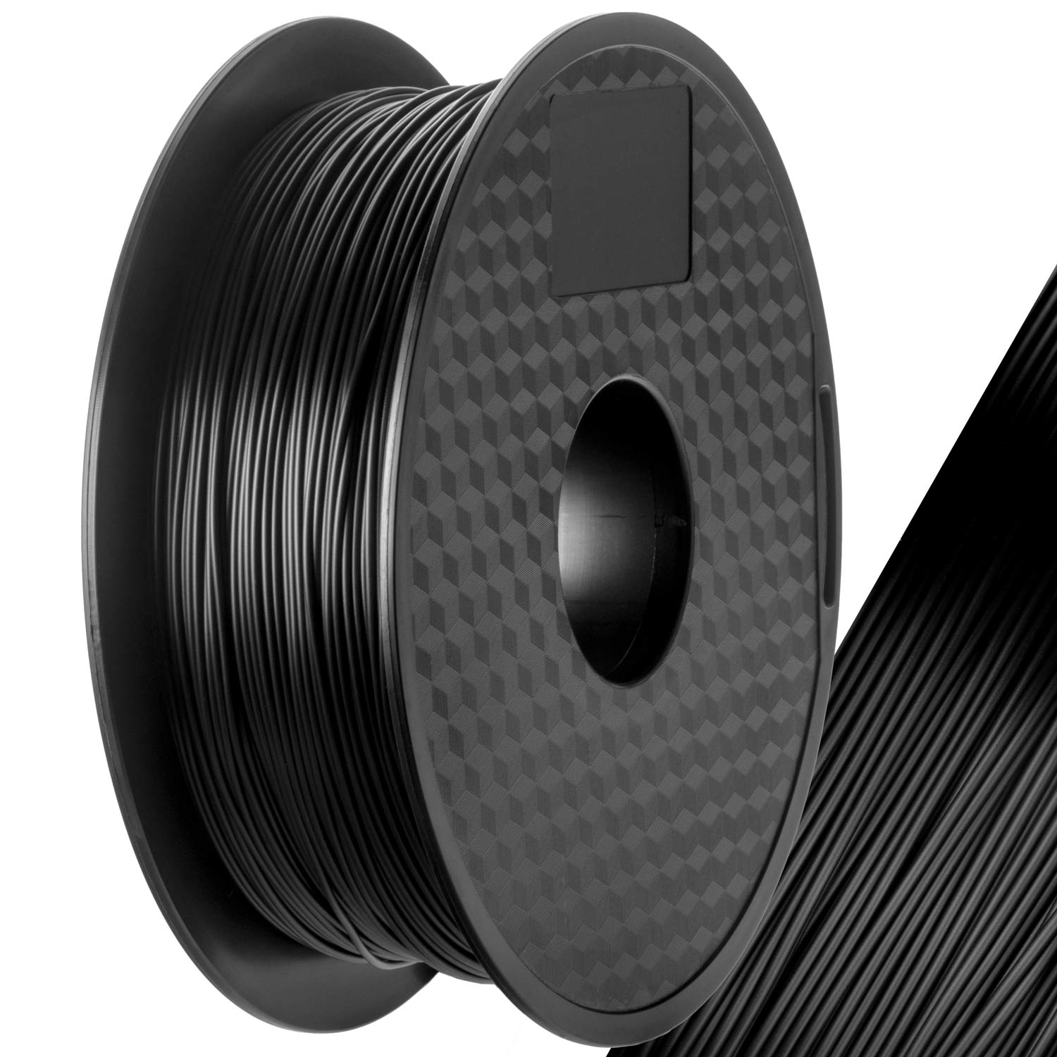 3d druck print pla filament schwarz spule f r 3d drucker 1kg 1 75mm spool black ebay. Black Bedroom Furniture Sets. Home Design Ideas
